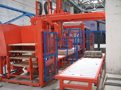 lift-accumulator and conveyor of europallets KRM 1025